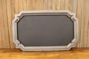 F56 Gray Geometric Chalkboard-L