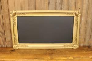 F185 Gold Medallion Cornered Chalkboard