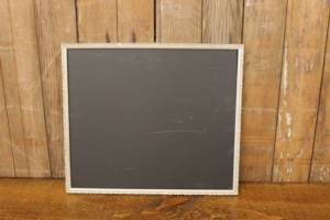 F217 Gray Narrow Trimmed Chalkboard
