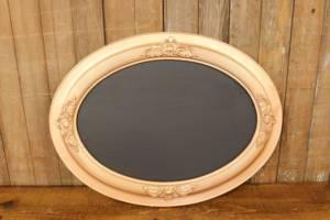 F255 Oval Copper Chalkboard