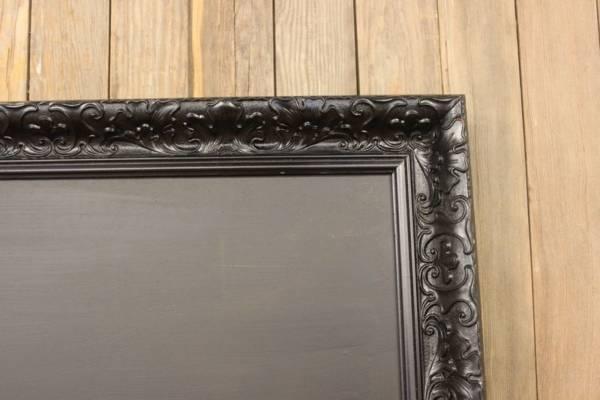 F261: Tall Black Chalkboard-XL Edge