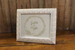 J4: Gold Cards & Gifts Sign