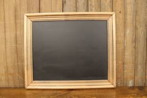 F41: Knock Down Bronze Chalkboard