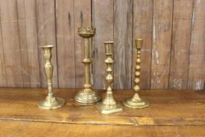 Brass Candlesticks-L