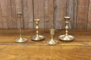Brass Candlesticks-S/M