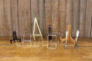 Assorted Tabletop Easels-S