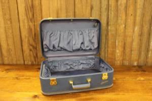 Royal Blue Suitcase