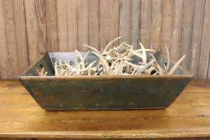 Rustic Green Crate Tray-XL