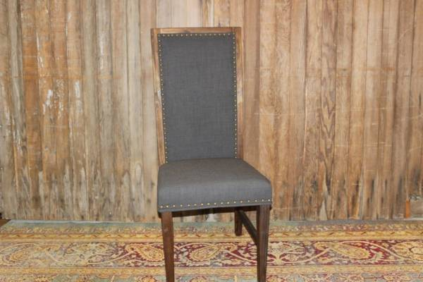 Dark Gray High Back Chair