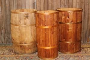 Wood Strapped Barrels
