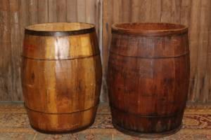 Flour Barrels-L