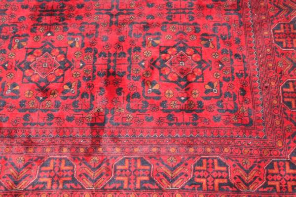 """Richard"" Deep Red Oriental Rug-L"