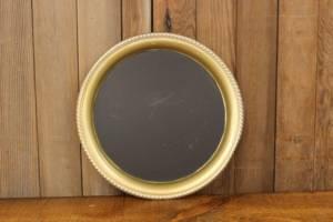 F263: Dusty Gold Platter Chalkboard