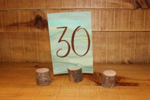 Wood Stump Card Holders -Vintique Rental WI