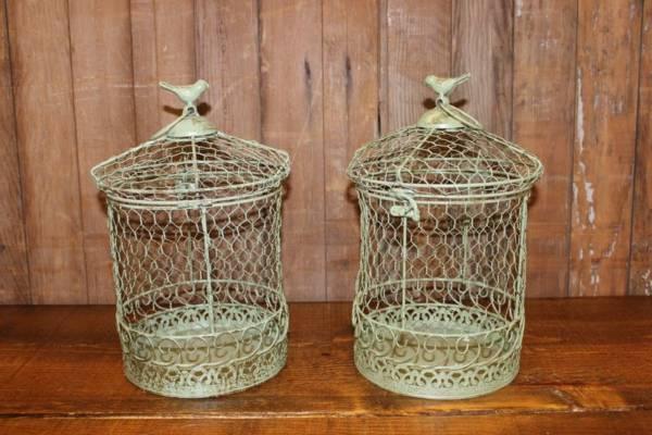 Sage Green Birdcages- Vintique Rental WI