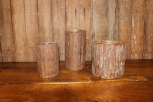 Bark Vases- Vintique Rental WI