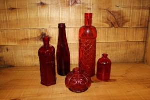 Assorted Red Bottles-S/M Vintique Rental WI