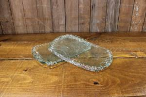 Sea Glass Serving Trays