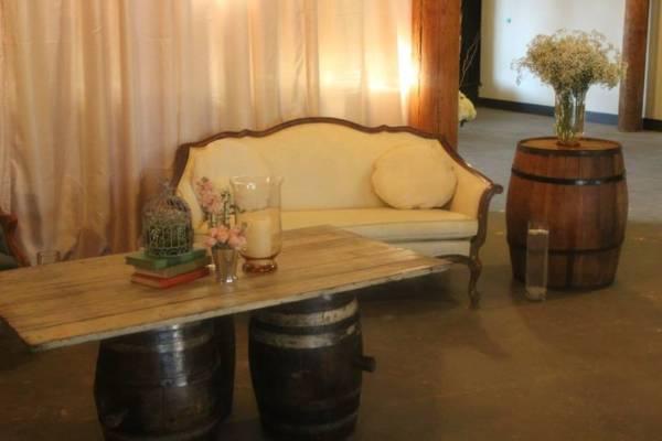 Barn Door & Barrel Table