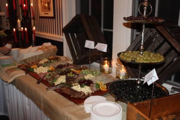 Pirate Food Display