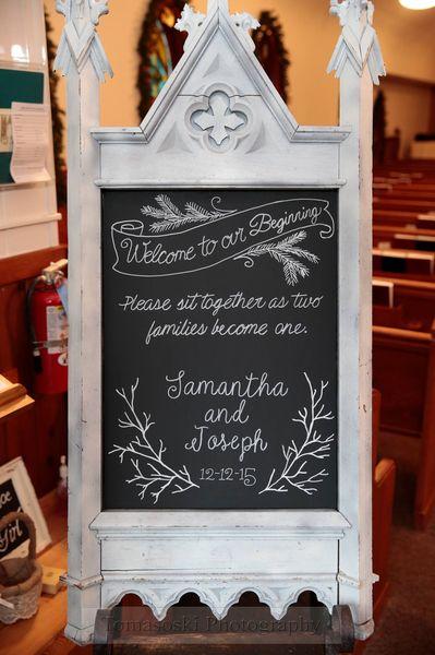 Winter Welcome Chalkboard