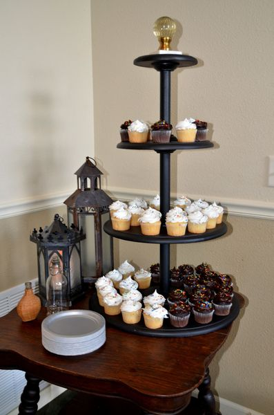 Harry Potter Cupcake Display