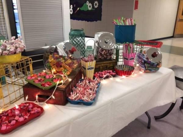 Carnival Candy Bar