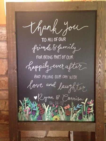 Barn Wood Bistro Chalkboard