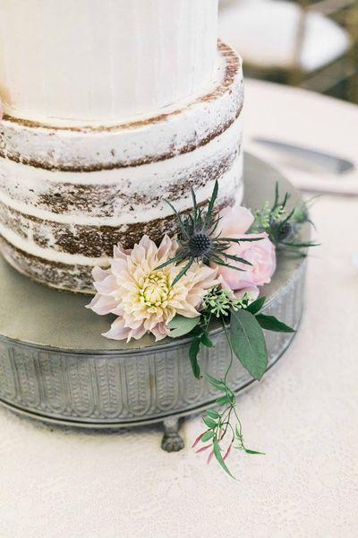 Silver Tin Cake Stand