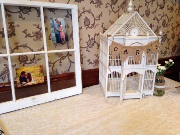 Wedding Card Birdcage