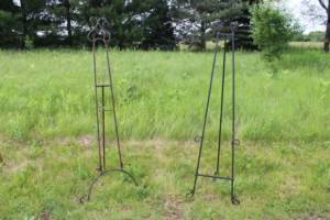 Assorted Metal Easels