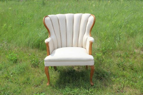 Cream Lounge Chair