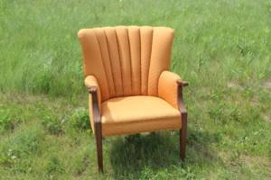 Dusty Orange Lounge Chairs