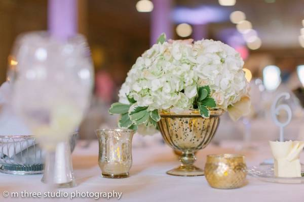 Silver Mercury Glass Vases- L