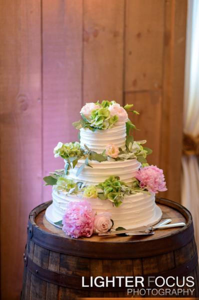 Barrel with Cake