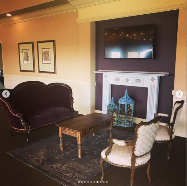 Rustic Vintage Lounge