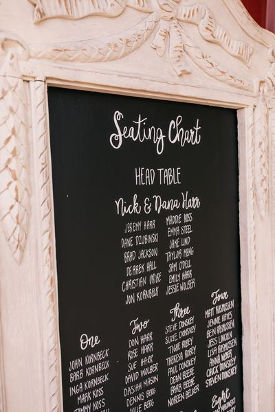 F58 Cream Draped Chalkboard-XL