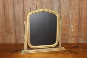 F265 Art Deco Gold Chalkboard