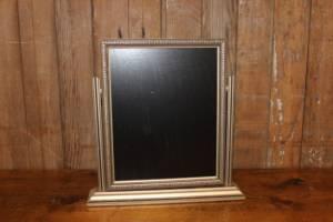 F267 Matte Gold Art Deco Chalkboard