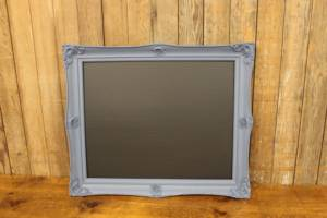 F27: Dusty Blue Chalkboard
