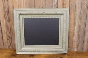 F266 A&B: Sage Green Thick Edged Chalkboard-M