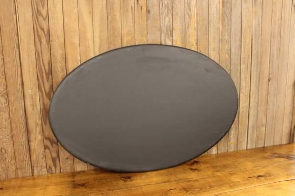 F268 Oval No Frame Chalkboard-L