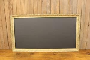 F254 Tall Gold Detailed Chalkboard-L