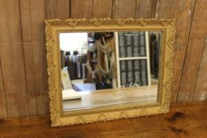 Gold Rectangular Mirror-S