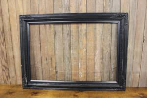 Rectangular Black Empty Frame