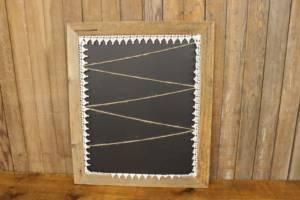 F295: Chalkboard & Twine Display