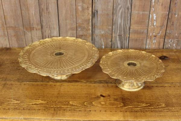 Gold Cake Stands