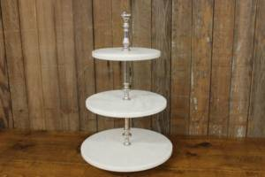 Marble 3-Tier Stand