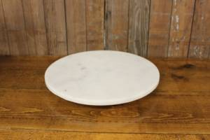 Marble Round Cake Stands-M