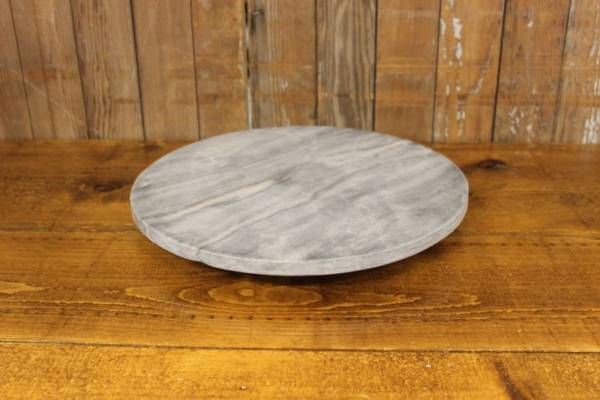 Gray Marble Cake Stand
